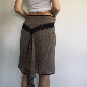 Vintage Max Studio Silk Skirt